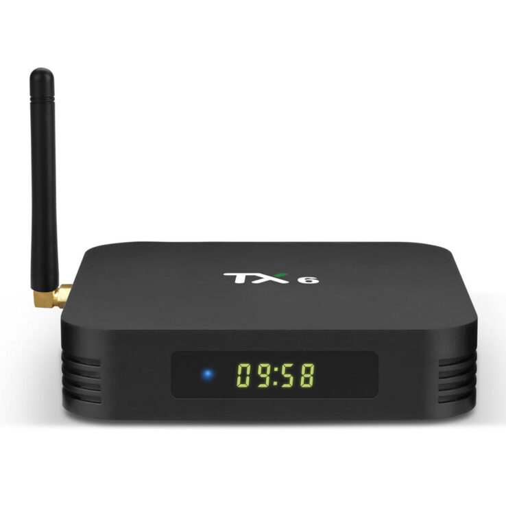 TANIX TX6 - Android TV Box - Allwinner H6 - 4GB RAM+32GB ROM